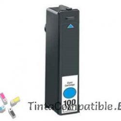 Tintas compatibles Lexmark 100 XL Cyan