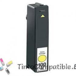 Tintas compatibles Lexmark 100 Amarillo
