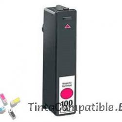 Tinta compatible Lexmark 100 Magenta
