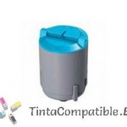 Toner compatibles Samsung CLP-C350A/ELS / CLP350 cyan