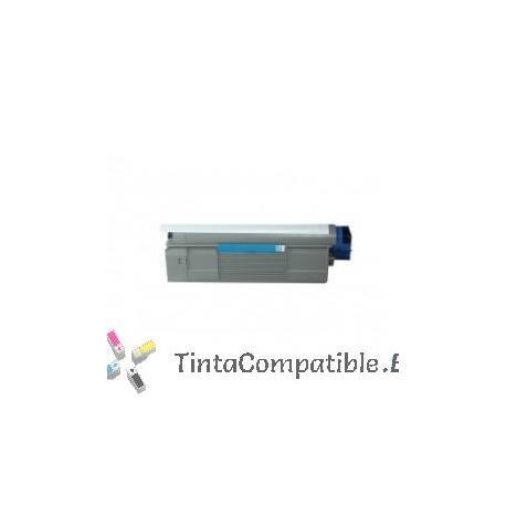 www.tintacompatible.es / Cartuchos de toner compatibles OKI C5850C / C5950C cyan