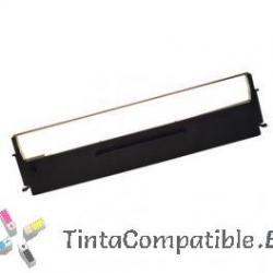 Cinta matricial compatible Epson ERC19 / LQ300 / LQ800 Negro