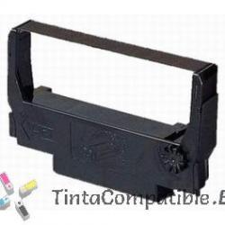 Cinta matricial compatible Epson ERC37 Negro