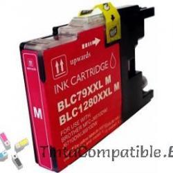 Cartuchos compatibles Brother LC1280XL magenta