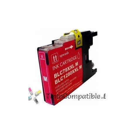 Tinta compatible Brother LC1280XL magenta