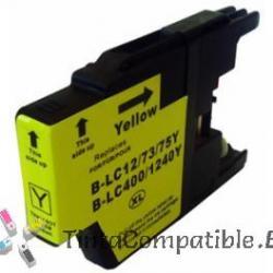 Tinta compatible Brother LC1240 amarillo
