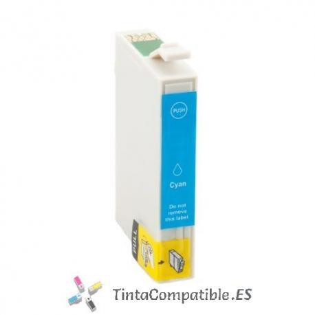 www.tintacompatible.es / Tinta compatible Epson T1812 cyan